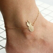 Ankle Beach Alloy Fruit Fashion Anklet Pineapple Bracelet Foot Jewelry