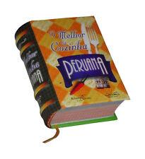 O Melhor da cozinha peruana in Portuguese capa dura de livro em miniatura