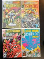 The SILVER SURFER / WARLOCK #1-4 Resurrection (Lot) (1993 MARVEL Comics) VF