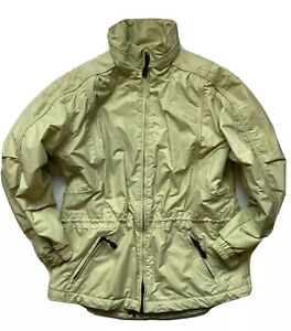 Vintage 90s Ossi Skiwear Women's Ski Jacket Color Green Full Zip womens Sz 10