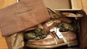 Church's Shoes - Shanghai Leather Monk Strap Glace Linen 7.5 F (US 8.0, EU 41)