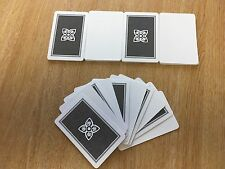 Blank Playing Cards, Blank ONE Side, Pack of 50 - Ref: 00806