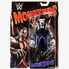 New 2018 MATTEL WWE MONSTERS UNDERTAKER as the VAMPIRE Wrestling Action Figure