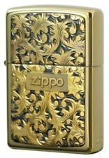 """Zippo  / Pure Silver Plate """"Arabusa"""" Gold titanium # K-2"""