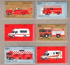 China Hong Kong 2018 150th Fire Services Department Stamps Fire Engine