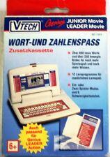 VTech 80-1883: Wort- & Zahlenspass, Zusatzkassette für Genius Leader Movie u.a.
