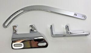 Chevy SBC Chrome Alternator Bracket Short Water Pump Driver Side 283 305 327 350
