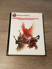 Monstrous Manual, Advanced Dungeons & Dragons 2nd Ed. (AD&D), RPG
