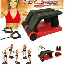 Air Stepper With Fitness Bands Climber Exercise Fitness Thigh Machine Indoor Use