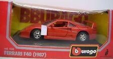 Bburago 1:24 1532 Ferrari F40 ( 1987 ), rot, Die Cast