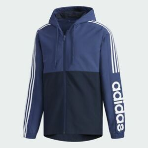 adidas Mens Essentials Colourblock Windbreaker Jacket