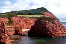 Ladram Bay Otterton Jurassic Coast Devon England UK Photograph Picture Print