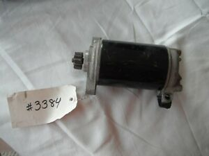 OMC Johnson/Evinrude Starter #586287   (item 3384)