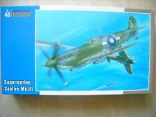 SPECIAL HOBBY-1/48-#48052- SUPERMARINE SEAFIRE MK.III LAST FLIGHT OVER PACIFIC