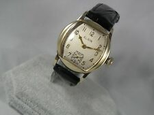 SERVICED 1920`S  ELGIN MEN`S WRISTWATCH.....3/0s MOVEMENT .....EXTREMELY CLEAN