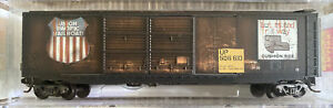 N Scale MTL Micro-Trains 34090 UP Union Pacific 506610 Weathered 50' Box Car