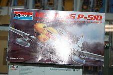 Lot 8-271 Monogram 5207 1:48 Mustang P-510 Kit