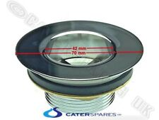 """WASTE OUTLET FITTING FOR COMMERCIAL CATERING SINKS 40mm 1.1/2"""" 70MM FLANGE"""