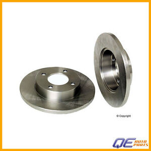 Front Dodge Colt Eagle Summit Mitsubishi Mirage Disc Brake Rotor Opparts