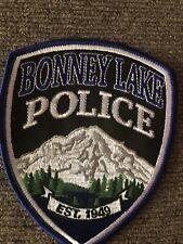 Washington  Police -  Bonney Lake Police  WA  Police Patch