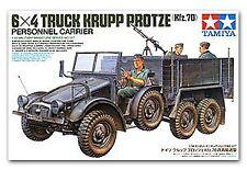 Tamiya 1/35 6x4 Camión Krupp Protze personal portador # 35317