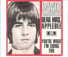 DAVID GARRICK - Dear Mrs. Applebee