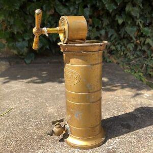 Antique French Eguisier Irrigateur Veritable Vaginal irrigator Pump Old Display