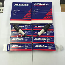 AcDelco Spark Plug R45 in Original Box set of 8 plugs 25165715