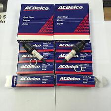 AcDelco Spark Plug R45 in Original Box set of 8 plugs 25165715