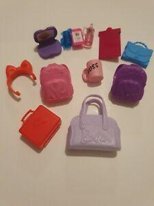 Barbie Chelsea Doll Accessory Bundle School Bag Lunchbox Laptop Phone Backpack