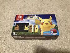 Nintendo Switch Pikachu & Eevee Edition/Pokemon:Let's Go Pikachu Bundle Pre-Sale