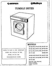 DWB001 GENUINE Simpson Dryer wall bracket, suits older models