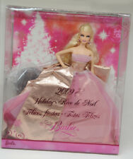 Collection Poupée Barbie Collector Noël 50 ans Holiday 2009 + boite - COMME NEUF