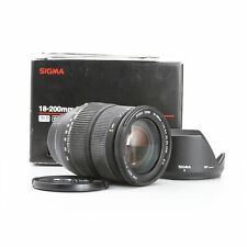 Nikon Sigma EX 3,5-6,3/18-200 OS  + Gut (229340)