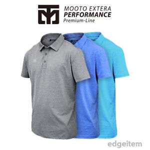 MOOTO EXTERA Performance PK T-Shirts (Aero Cool) for Group Uniform or Individual