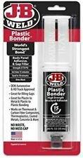 JB Weld Plastic Bonder Body Panel Adhesive & Gap Filler Syringe in Black - 25ml