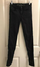 Black American Eagle Outfitters Super Stretch Jegging 00