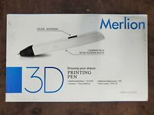 Merlion 3D Printing Pen, New, Open Box