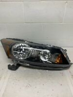 2008 2009 2010 2011 2012 Honda Accord Right Passenger Halogen Sedan Headlight