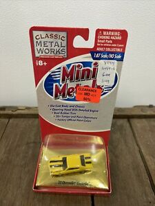 70 Chevy Chevelle Yellow CMW Mini Metals 1/87 HO scale Diecast