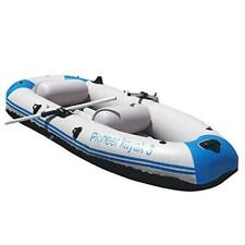Yocalo Inflatable Boat Series,raft Inflatable Kayak, Fishing Boat White_2-3
