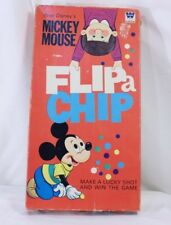 Vintage Disney Mickey Mouse Game - Flip a Chip