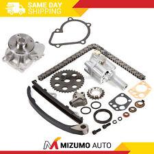 Timing Chain Kit Oil Water Pump KA24E Fit 89-97 2.4L Nissan 240SX D21 Pickup
