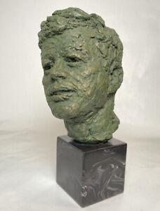 John F. Kennedy, JFK Bust Sculpture by Robert Berks