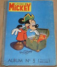 MICKEY / Recueil n°5 /  1954 / BE-