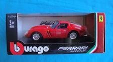 FERRARI 250 GTO RED BURAGO 1/24
