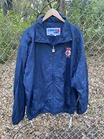 Vintage 90s Boston Red Sox Chalk Line Windbreaker Jacket Size XL