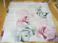 Ted Baker Porcelain Rose LARGE SQUARE Silk Scarf --STUNNING! slight second