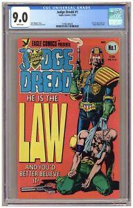 Judge Dredd #1 (CGC 9.0) 1st U.S. appearance of Judge Joseph Dredd; 1983 (j#6753