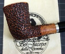 New & Unsmoked Ser Jacopo (R1) Rustic Bell Dublin with Flush Silver Band